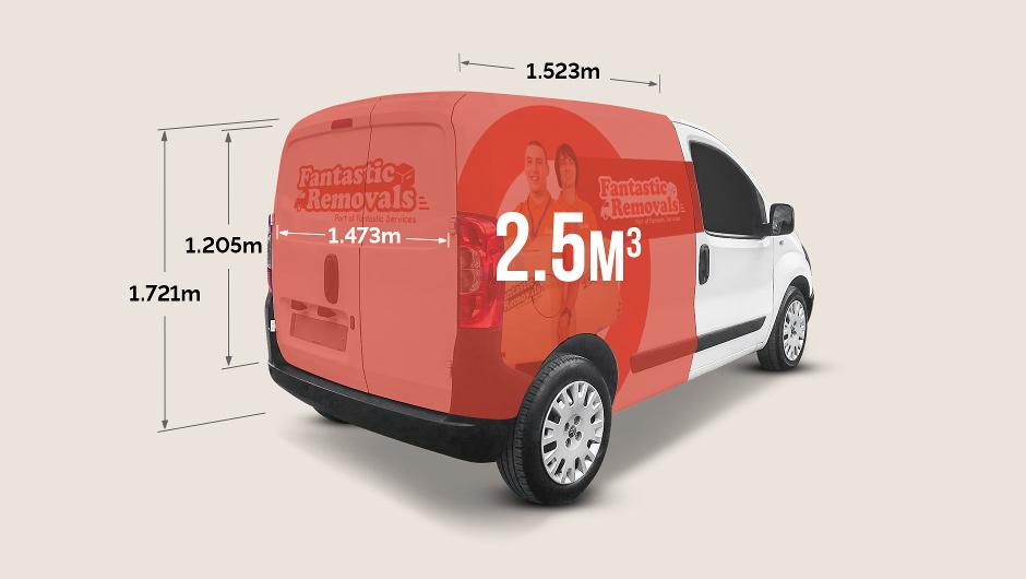 cargo dimensions Citroen Nemo